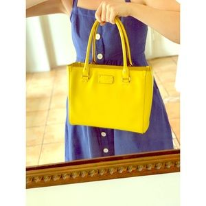 Yellow Kate Spade Wellesley Quinn Handbag